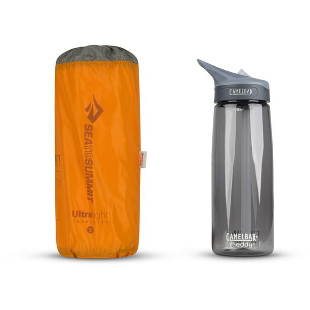 Sea to Summit Ultralight Isolierte Luftmatte Small orange