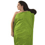 Sea to Summit Silk/Cotton Travel Liner Standard grön