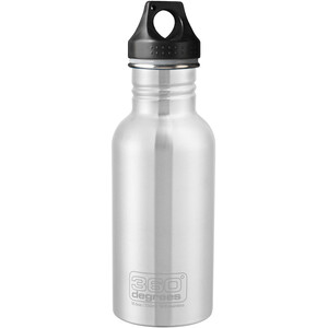 360° degrees Stainless Drink Bottle 550ml steel steel