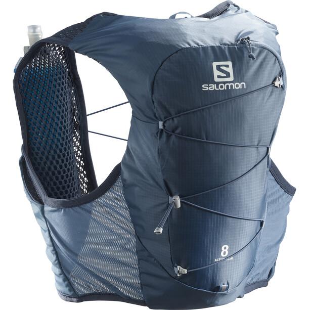Salomon Active Skin 8 Kit sac à dos, bleu