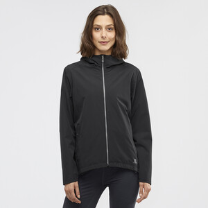 Salomon Comet WP Jacke Damen black black