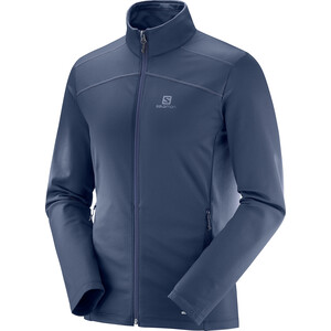 Salomon Discovery LT Full-Zip Jacke Herren night sky night sky