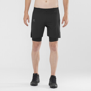 Salomon Exo Motion Twinskin Shorts Men black black