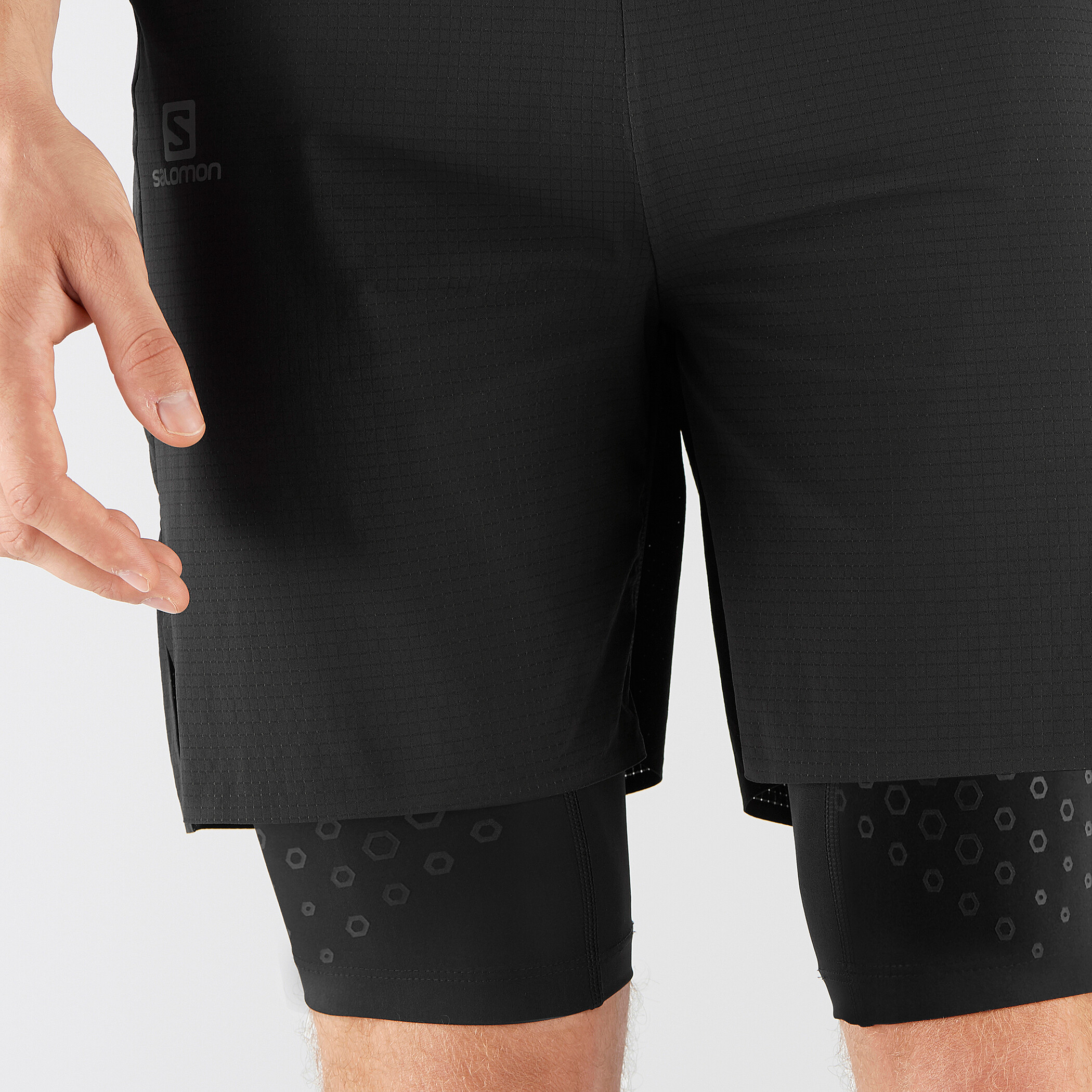 Salomon Exo Motion Twinskin Shorts Herren black 3nulD