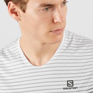 Salomon Sense Tank Top Herren white/alloy white/alloy