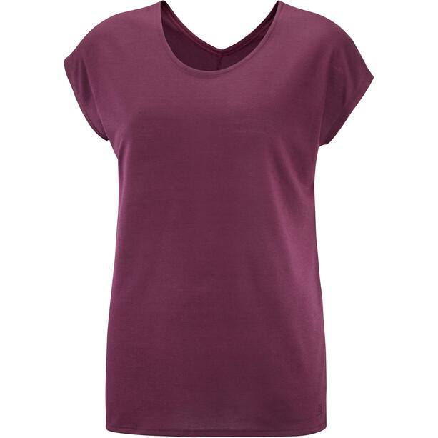 Salomon Comet T-shirt Dames, violet