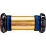 KCNC XC Innenlager für Shimano 68/73mm BSA gold/schwarz