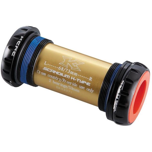 KCNC XC Innenlager für Shimano 68/73mm BSA black