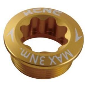 KCNC Kurbelschraube für Shimano Kurbel Arm Links gold gold