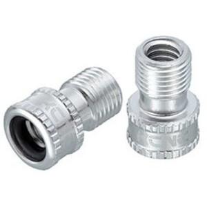 KCNC Ventil Adapter Presta zu Schrader silver silver