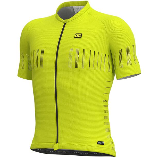Alé Cycling R-EV1 Cooling Kurzarm Trikot Herren fluo yellow