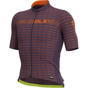 Alé Cycling Graphics PRR Green Road Kurzarm Trikot Herren lila/orange lila/orange