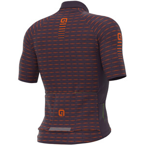 Alé Cycling Graphics PRR Green Road SS Jersey Men, violet/oranje violet/oranje