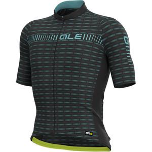 Alé Cycling Graphics PRR Green Road Kurzarm Trikot Herren schwarz/blau schwarz/blau