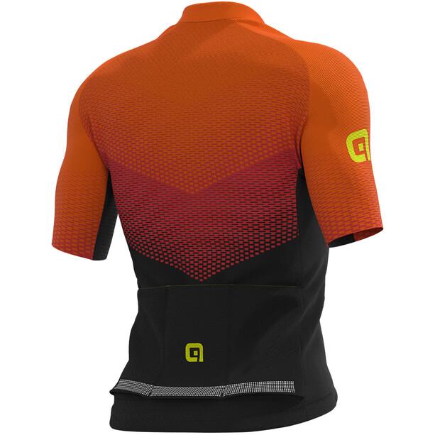 Alé Cycling Graphics PRR Delta Kurzarm Trikot Herren black/red/fluo orange