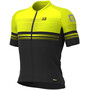 Alé Cycling Graphics PRR Slide Kurzarm Trikot Herren black/fluo yellow