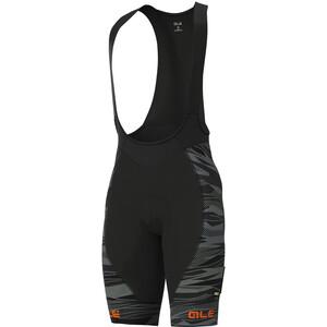 Alé Cycling Graphics PRR Rock Trägershorts Herren black/fluo orange black/fluo orange
