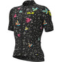 Alé Cycling Graphics PRR Versilia Maillot Manches courtes Homme, bleu/Multicolore