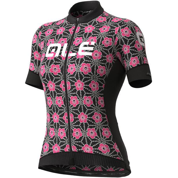 Alé Cycling PR-S Garda SS Jersey Dame Svart/Rosa