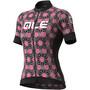 Alé Cycling PR-S Garda Kurzarm Trikot Damen black/fluo pink