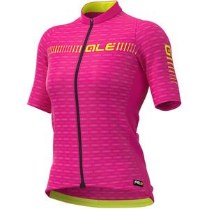 Alé Cycling Graphics PRR Green Road Kurzarm Trikot Damen pink pink