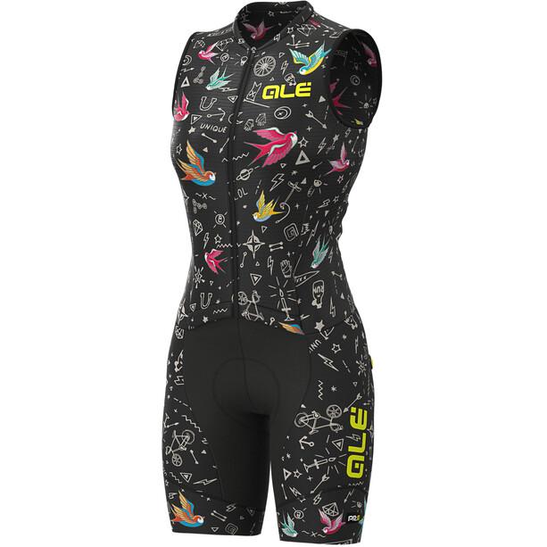 Alé Cycling Graphics PRR Versilia SL Unitard Dam svart/flerfärgad