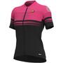 Alé Cycling Graphics PRR Slide Kurzarm Trikot Damen black/fluo pink