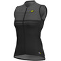 Alé Cycling Graphics PRR Slide Ärmelloses Trikot Damen black/charcoal grey