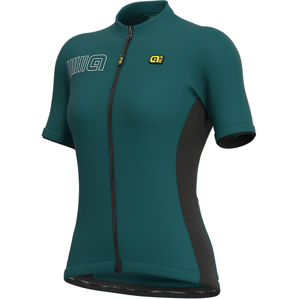 Alé Cycling Solid Color Block SS Jersey Women lagoon