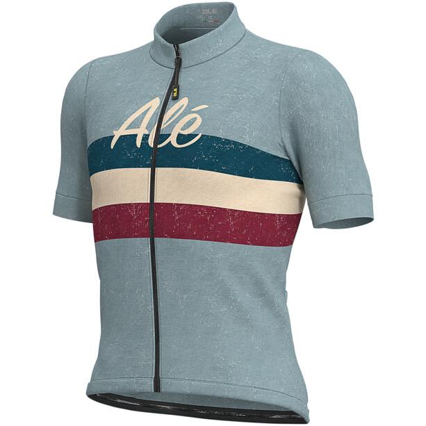 Alé Cycling Classic Epica Kurzarm Trikot Herren light blue