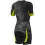 Alé Cycling Triathlon Hawaii Kurzärmliges Ganzkörpertrikot Herren black