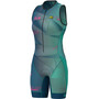 Alé Cycling Triathlon Hawaii Ärmelloser Anzug Damen emerald