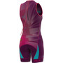 Alé Cycling Triathlon Hawaii Olympic Ärmelloses Ganzkörpertrikot Damen purple