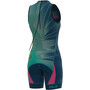 Alé Cycling Triathlon Hawaii Olympic Ärmelloser Anzug Damen emerald