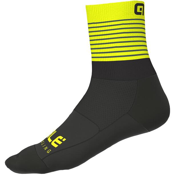 Alé Cycling Piuma Socken Herren black/fluo yellow