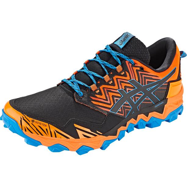 asics Gel-Fujitrabuco 8 G-Tx Shoes Men shocking orange/black shocking orange/black