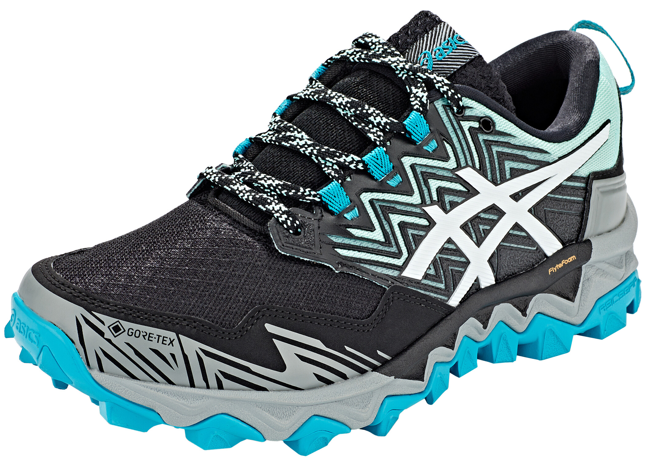 asics Gel Fujitrabuco 8 G Tx Shoes Women fresh icewhite