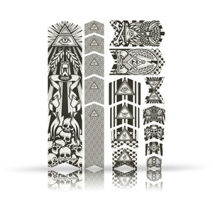 Riesel Design frame:TAPE 3000, negro/transparente negro/transparente