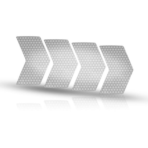 Riesel Design re:flex rim Reflekterende klistermærker, sølv