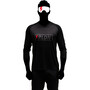 Riesel Design banger 3/4 Trikot dark knight