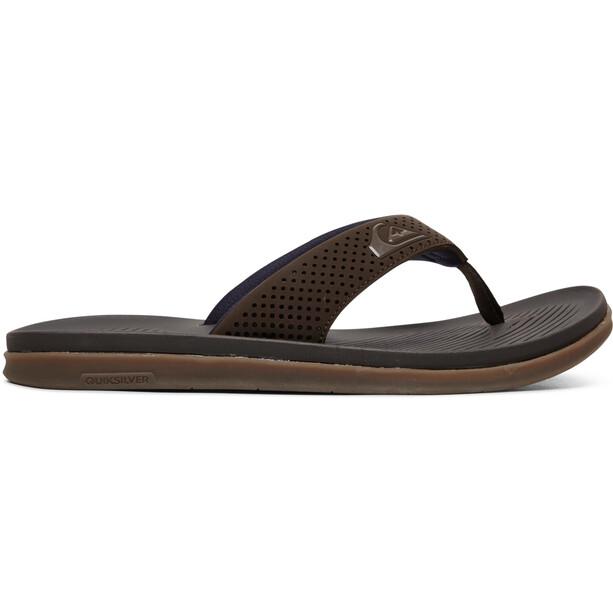 Quiksilver Haleiwa Plus Chaussures Homme, marron