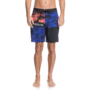 Quiksilver Highline Rave Wave 18 Boardshorts Herren black black