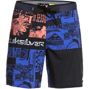 Quiksilver Highline Rave Wave 18 Boardshorts Heren, zwart/blauw zwart/blauw