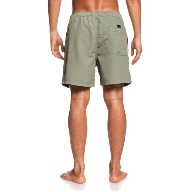 Quiksilver Beach Please Volley 16 Shorts Heren, olijf