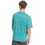 Quiksilver Heritage Kurzarm T-Shirt Herren pagoda blue tonal heritage
