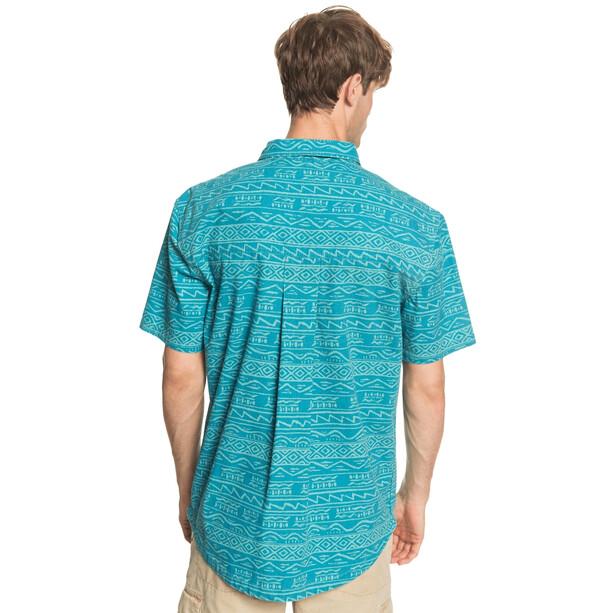 Quiksilver Heritage T-shirt Heren, turquoise