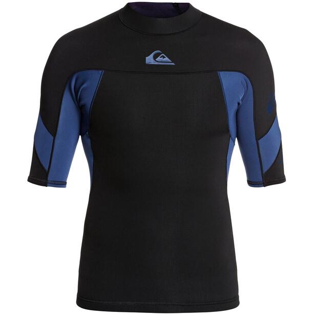 Quiksilver 1.0 Syncro SS Shirt B-Lock Men, musta