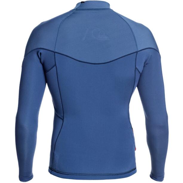 Quiksilver 1.5 Highline LTD T-shirt Manches longues B-Lock Homme, iodine blue/ cascade blue