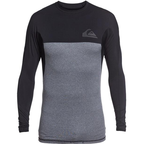 Quiksilver Core Performer Longsleeve Heren, grijs/zwart