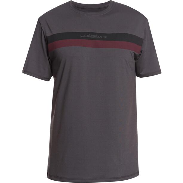 Quiksilver Omni Rave Seasons SS Surf Shirt Men, ruskea
